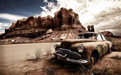 Car, North America, Landscape Wallpapers Hd  Desktop And