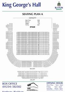 St George Seating Chart King Georges Hall Seating Plan A Printable Pdf Download