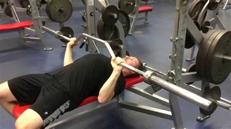 Cambered Bar Bench Press Tutorial Youtube