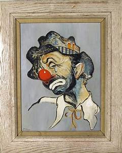 - A. May, Sad Clown, Oil Painting & Reviews | Houzz