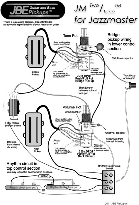 Wiring Tip Using Switch With Jbe Pickups