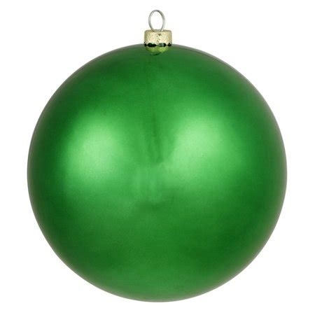 Matte Xmas Green Commercial Shatterproof Christmas Ball