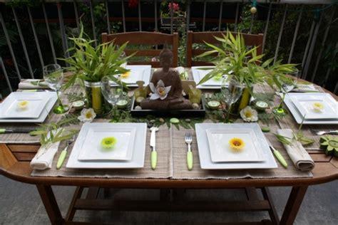 deco de table zen d 233 co de table zen avec bambous