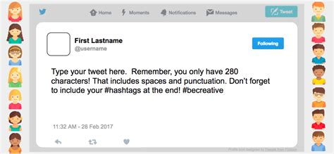 Twitter Feed Photoshop Template by Twitter Tweet Template Image Collections Template Design