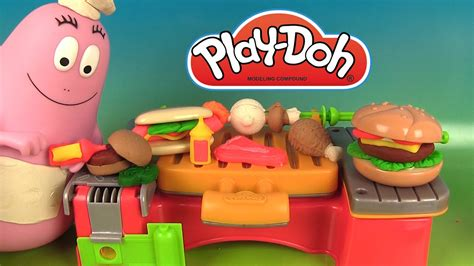 pate a modeler en anglais play doh cookout creations cr 233 ations sur le gril p 226 te 224 modeler avec chef barbapapa