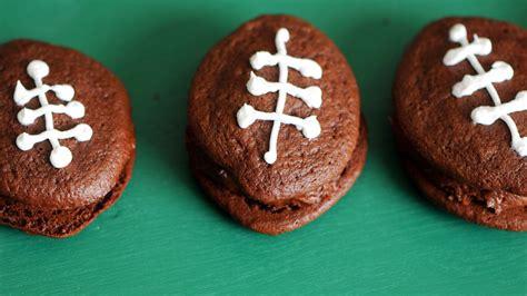 football whoopie pies recipe tablespooncom