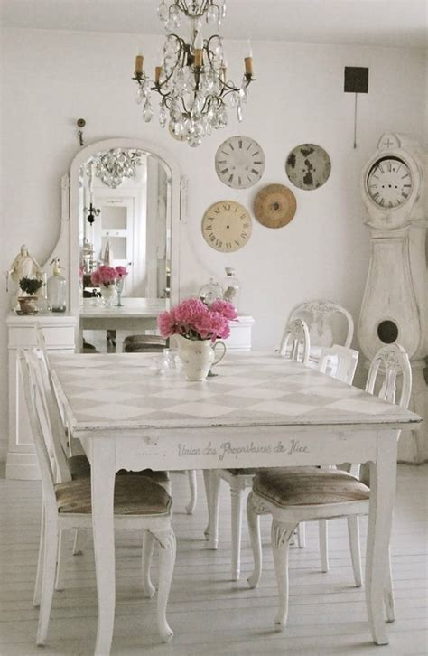 foto de 25 Shabby Chic Style Dining Room Design Ideas Decoration