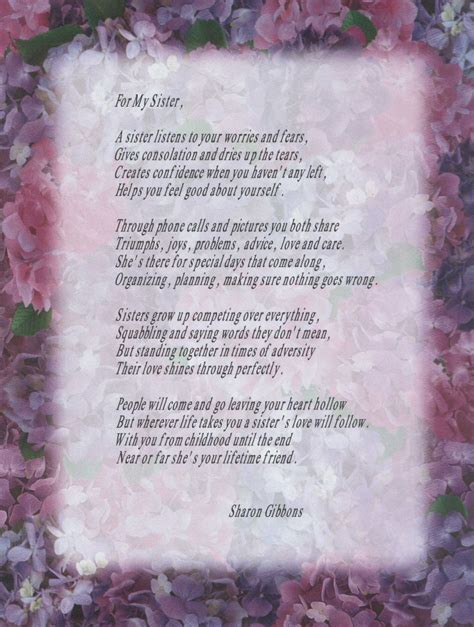 brother  sister poems dad poem sister poem