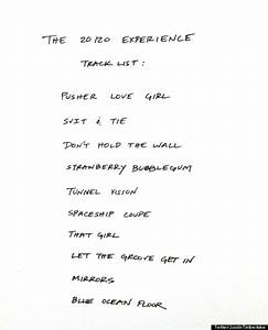 'The 20/20 Experience' Tracklist: Justin Timberlake ...