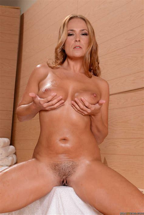 Mature Blonde Oiled Up And Masturbating Photos Elexis Monroe Clover MILF Fox