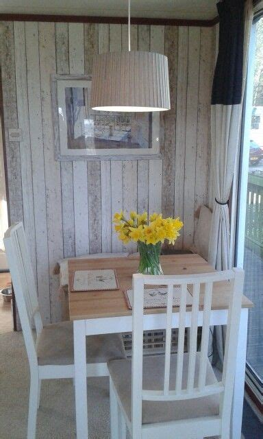 dining room makeover   static caravan glamping