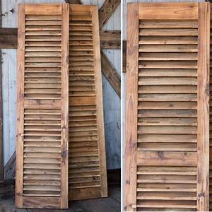 reclaimed wood shutters set of 2 on the side the o With barnwood shutters