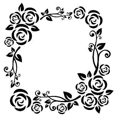 Stencil Frame Patterns