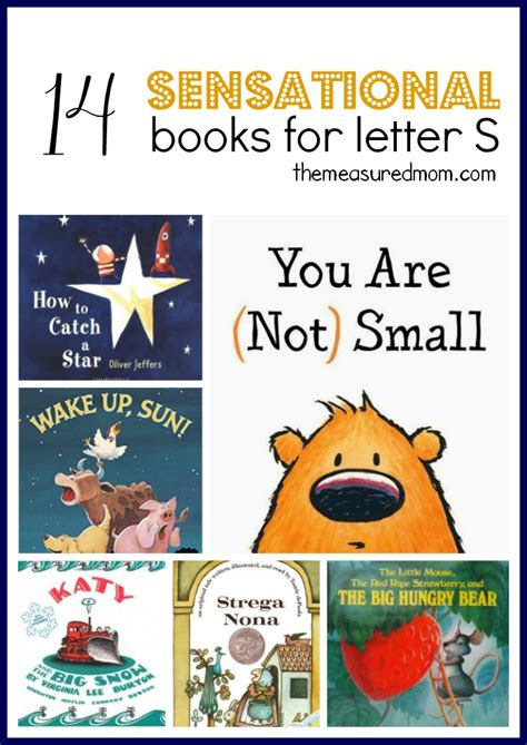 letter s books for preschool 572 | sensational books for letter S