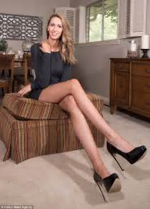 High Heel Chair Uk by Houston S Lauren Williams Has America S Longest Legs At A