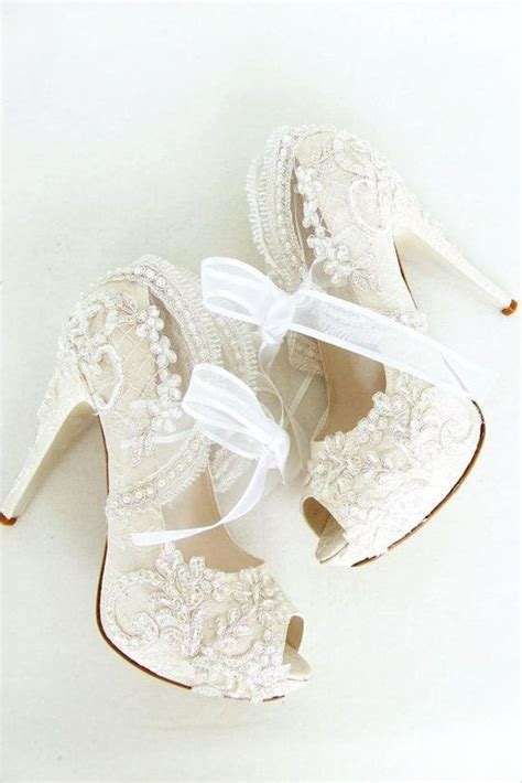 Wedding Shoes For Lace Dress