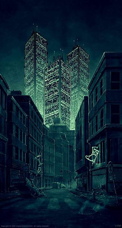Cyberpunk Scene Shadowrun Opening Viko Br Future