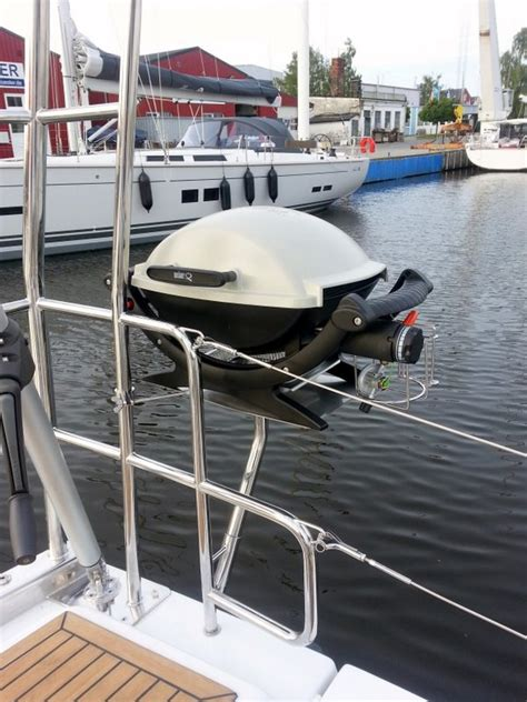 Boat Grill For Rod Holder by Bbq Myhanse Hanse Yachts Owners Forum