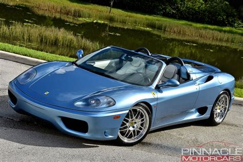 Great savings & free delivery / collection on many items. 2001 Ferrari 360 SPIDER/SPIDER F1 | Pinnacle Motorcars