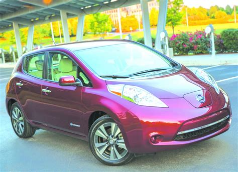 leaf electric car range nissan s updated leaf electric car gets a bigger battery