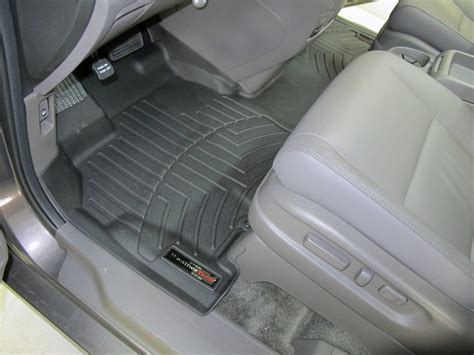 2007 Honda Odyssey Weathertech Floor Mats by Weathertech Front Auto Floor Mat Single Black