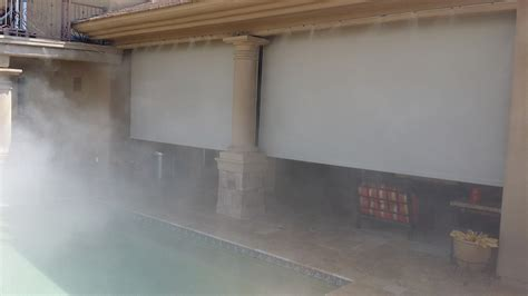 backyard patio mist systems misting system