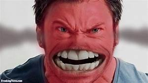 Hughe Jackman as an Angry Face Emoticon Pictures ...