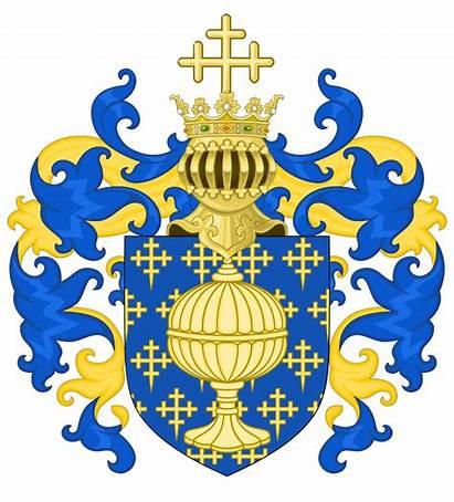 Arms Coat Galicia Century Crest Spain 16th