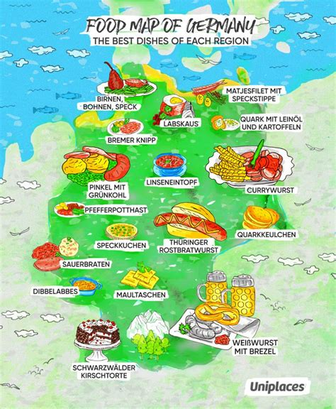 culinary cuisine infographic regional food maps of europe eat your