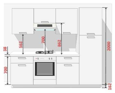 taille meuble cuisine taille meuble cuisine cuisine en image