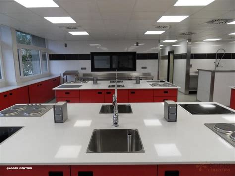 ecole de cuisine eclairage led d 39 une école de cuisine addis lighting