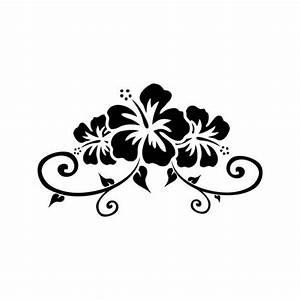 hibiscus tattoo | Tribal Hibiscus Tattoo Samples | Tattoo ...