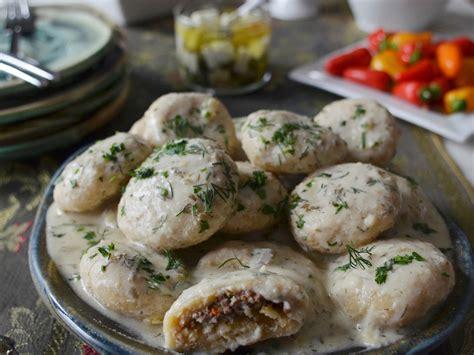 kurdish dumplings in yogurt recipe andrew zimmern food