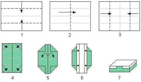 box  gold origami craft