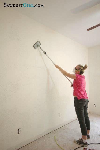 rid  ugly wall texture skim coating
