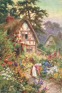 Cottage Gärten Bilder : 73 besten cottages with garden paintings bilder auf ~ Articles-book.com Haus und Dekorationen