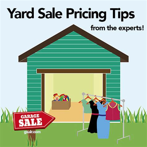 garage sale pricing yard sale pricing tips garage sale blog gsalr ca