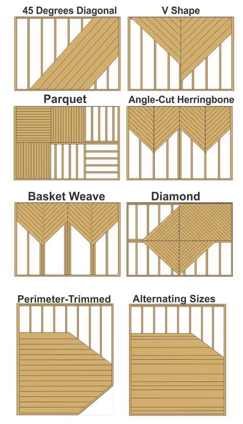 decking patterns contractor  ma decks pinterest