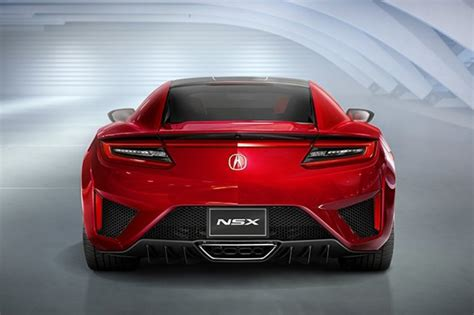 2019 Acura NSX : 2019 Acura Nsx Coupe Review