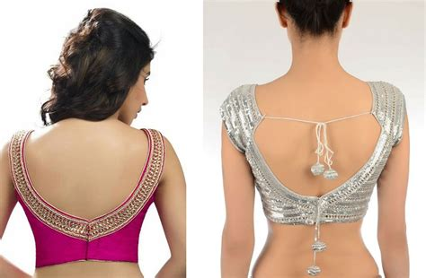 types  blouse neck designs   time latest