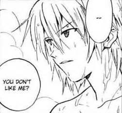 Image Kaworu disliked by Shinji Sadamoto Manga