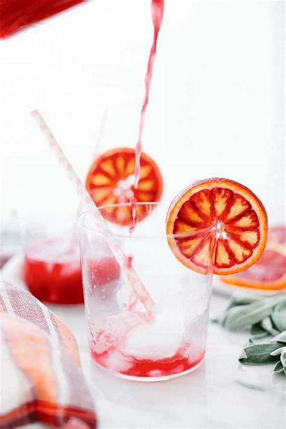 Soda Orange Blood Sparkling Drink Gifs Cool