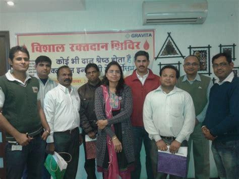 Grafiti Indra : Gravita Organized Blood Donation Camp At Its Head Office