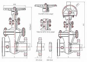 Gate Valve - Parts And Material List
