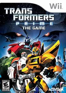 Official Transformers Prime Video Game Assets
