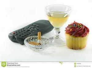 Unhealthy Habits I Resolve To Break Stock Photo - Image ...