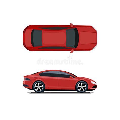 voiture 3 si es b voiture vue de ci dessus et du côté dessin