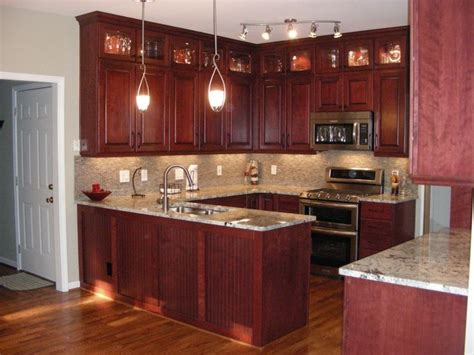 pictures of modern kitchen cabinets 46 best cherry cabinets images on cherry wood 7478