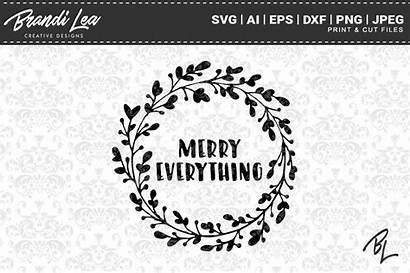 Everything Merry Svg Cutting Thehungryjpeg Cart