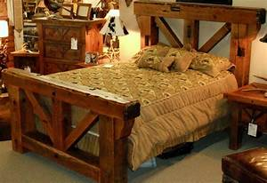 warm barn wood bedroom furniture bedroom furniture With barn style bed frame